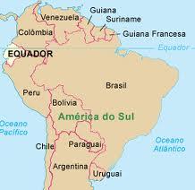 Mapa América do Sul - EquadorimagesCAPCH40B