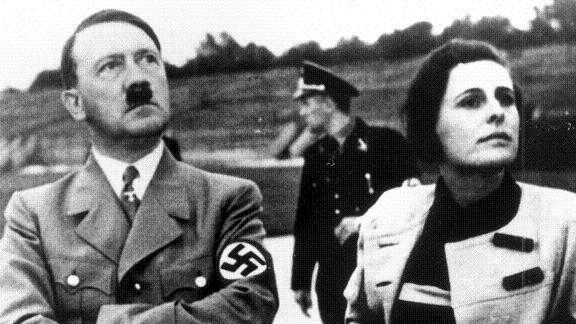 Hitler e Leni Riefenstahl em 1942