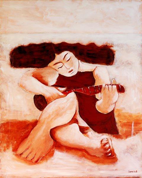pintura da artista açoriana Lena Gal (S. Miguel, Açores, 1957)