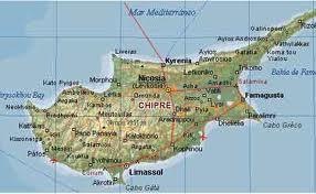 mapa chipre - II - imagesCA8NPQZS