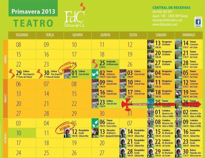 Agenda Trimestral - Primavera 2013 - II