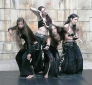 grupo de bellydance gótico Ignis Fatuus Luna