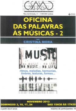 DAS PALAVRAS ÀS MÚSICAS - 2