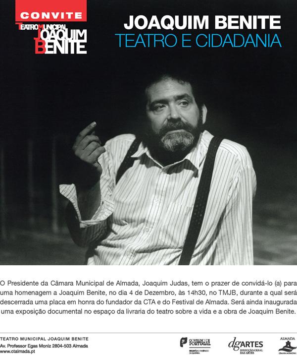 Homenagem a Joaquim Benite