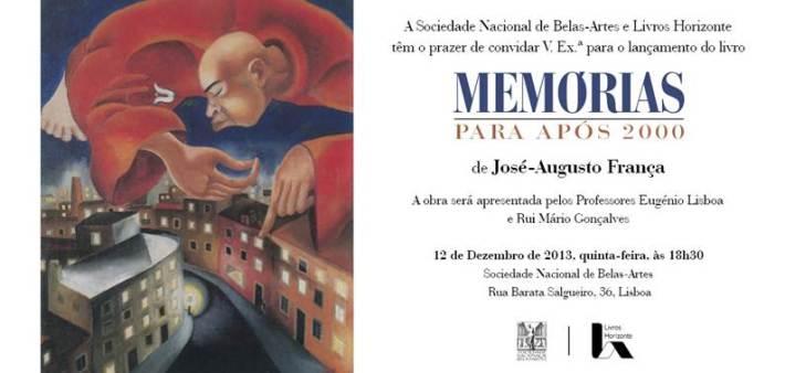 Convite José Augusto França