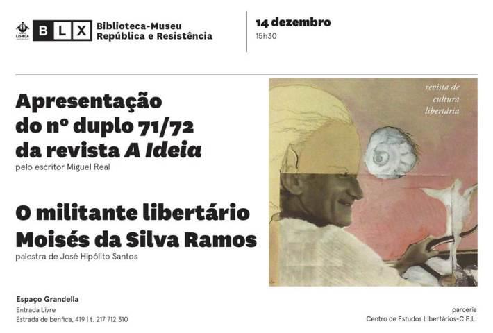 Revista Ideia + palestra de José Hipólito