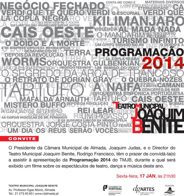 Apresentação da programação para 2014