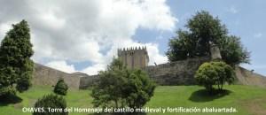 2. Murallas abaluartadas y castillo medieval
