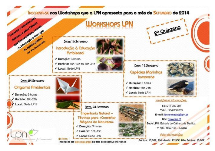 workshops - setembro 2014 - II