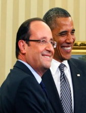 Obama - Hollande