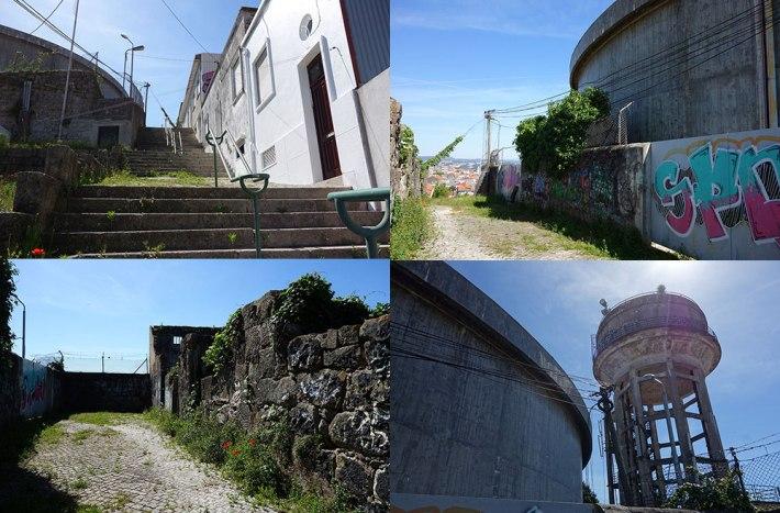 Escadas do Monte do Tadeu - Reservatório Torre
