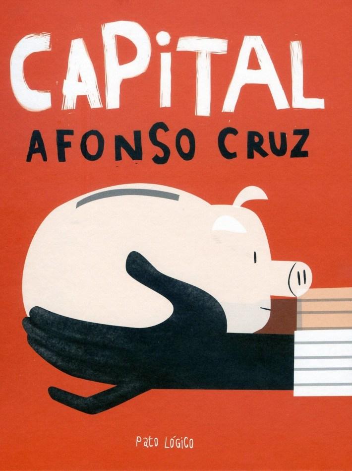 Afonso Cruz - Capital, capa