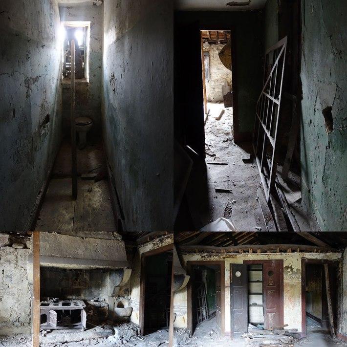 Parte do interior da Casa Senhorial