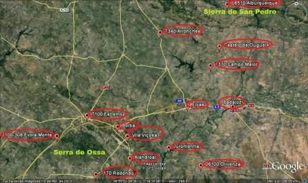 Badajoz y alrededores