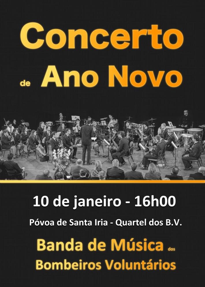 Bombeiros - Cartaz concerto ano novo 2016