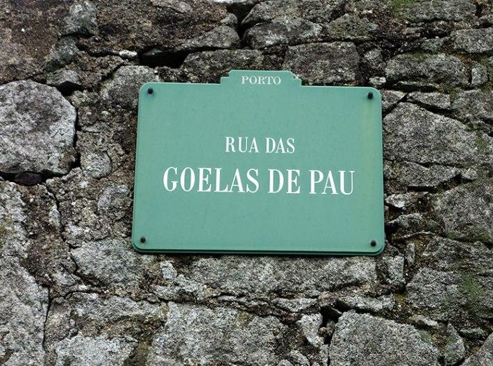 RUA DAS GOELAS DE PAU