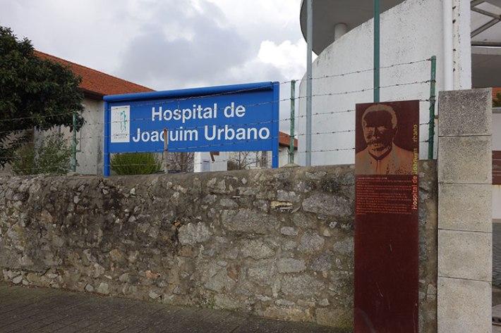 ENTRADA PRINCIPAL DO HOSPITAL DAS GOELAS DE PAU