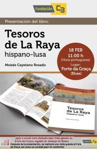 Anuncio presentación TESOROS DE LA RAYA