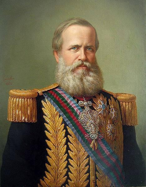 "Dom Pedro II (2 de Dezembro de 1825 — 5 de Dezembro de 1891), alcunhado de ""O Magnânimo"", foi o segundo e último monarca do Império do Brasil, tendo reinado o país durante 58 anos"