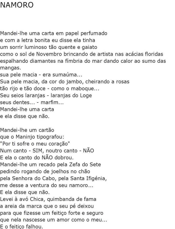 Namoro - I