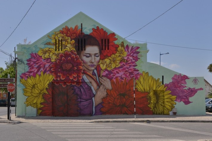Mural Montijo Caoital da Flor