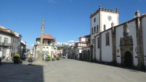 2.1. Bragança. Praça da Sé.