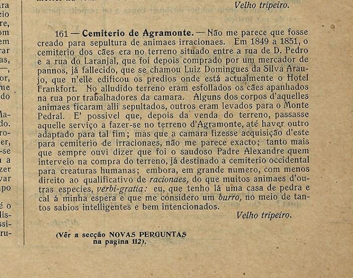 O TRIPEIRO (1909)