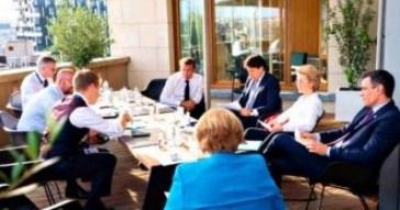Cimeira UE 3 Fundo de recuperação frugais propõem 350 mil milhões subvenções e 350 mil milhões empréstimos 2