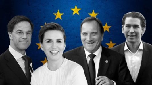 Cimeira UE 14 Le vent se leveOS QUATRO VENTRÍLOQUOS FRUGAIS DE UMA UNIÃO EUROPEIA 1
