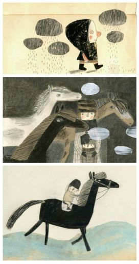 Manon Gauthier illustrations found on doodleparade.com