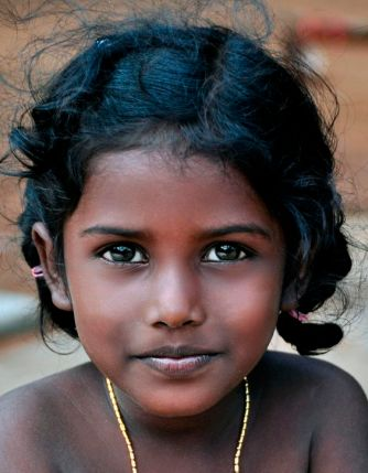girl in India by Joe Routon found on 500px.com