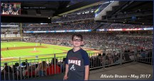 Tyler at the ball game