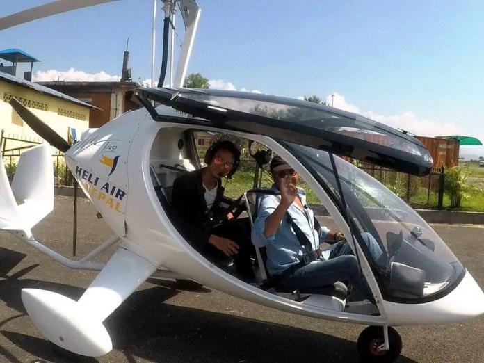 heli air gyrocopter