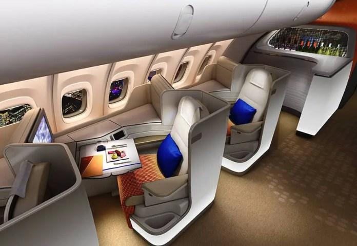 boeing 747 8 business class