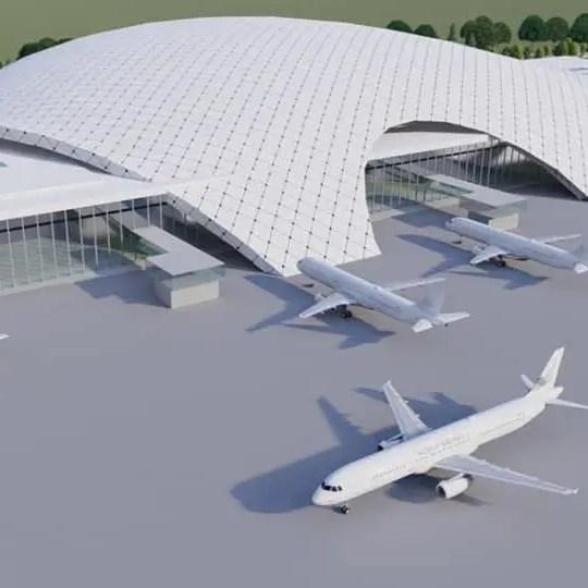 gautam buddha international airport terminal design 3