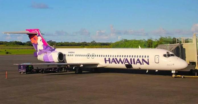 hawaiian airlines boeing 717 hilo airport aviatechchannel
