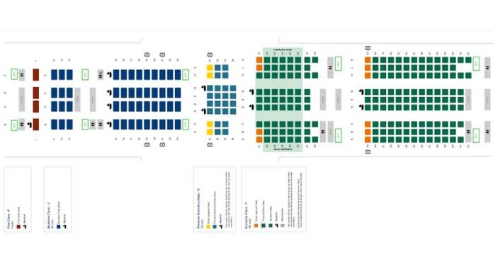 singapore airlines boeing 777 300er seat map aviatechchannel