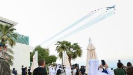 Qatar Airways celebrates its 20th anniversary with thrilling air display over Doha 7