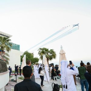 Qatar Airways celebrates its 20th anniversary with thrilling air display over Doha 3