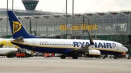 Ryanair's enriched route network from Cologne Bonn 43