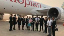 Africa's first Boeing 787-9 Dreamliner touches down at Delhi International Airport 21