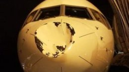 'UFO' hits Delta Airlines plane carrying NBA team 61
