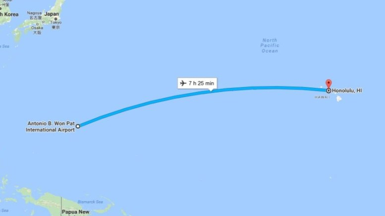 Hawaii to Guam on Hawaiian Airlines? 1