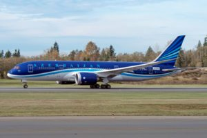 Boeing and Azerbaijan Airlines announce deal for 787 Dreamliners, Freighters 1
