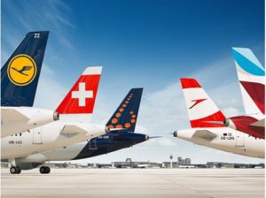 Passenger volume of Lufthansa Group airlines increased by one third in November 1