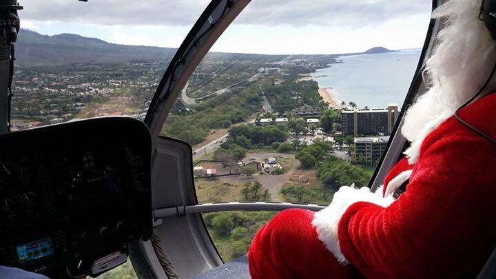 No Sleigh and Reindeer for Santa Claus at a Maui Resort: What about the children? 2