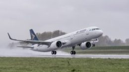 Air Astana takes delivery of first A321neo 51