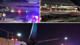 China Southern Airline collided with Kuwait Airways at JFK 47