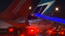 Planes collide in Ontario 50