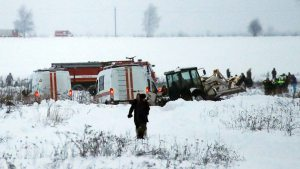 71 killed in passenger plane crash near Moscow